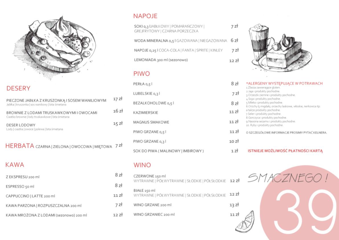 2 menu